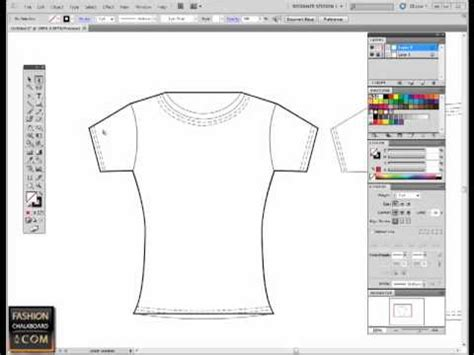 tutorial illustrator fashion design fashion flat sketch in illustrator pen tool tutorial