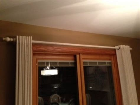 long curtain rod without center support curtain rod center support curtain menzilperde net