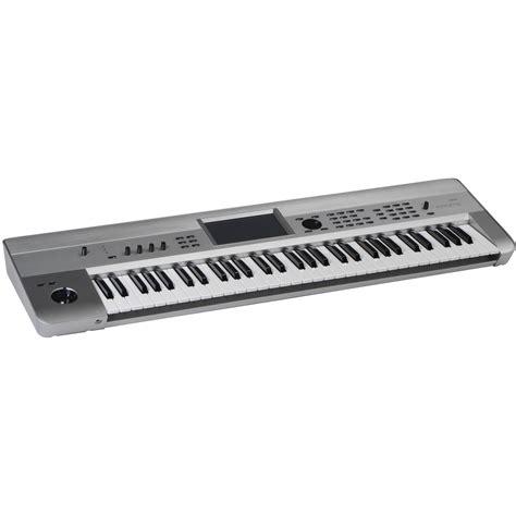 Keyboard Korg Krome 61 korg krome 61 key workstation krome61plt b h photo
