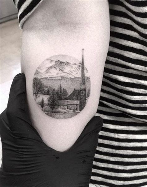 small town tattoos 25 best ideas about scenery on outdoor