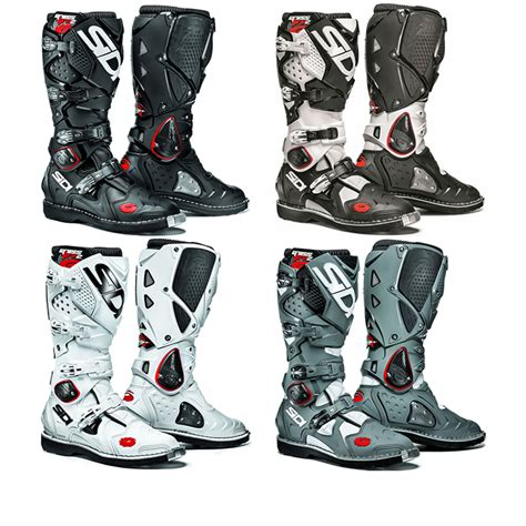 sidi motocross boots sidi crossfire 2 mx enduro road steel toe motocross