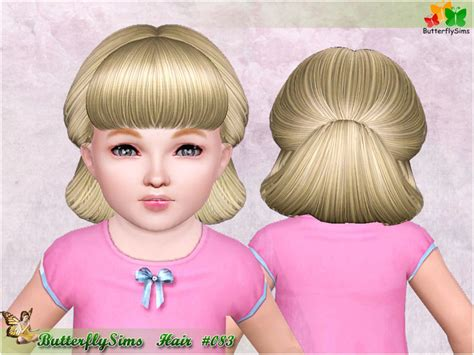 butterfly sims 3 male hair my sims 3 blog butterfly sims 83 hair for females