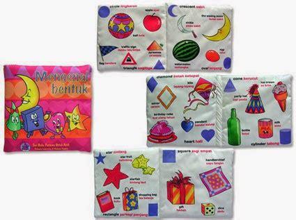 Gigitan Bayi Bentuk Buku Softbook buku bantal buku bantal murah bukubantal bayi mainan