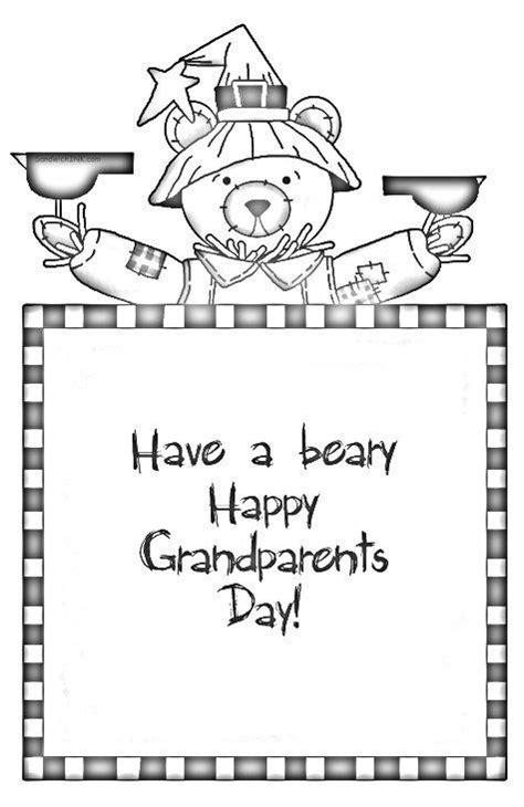 coloring page for grandparents day 17 best ideas about happy grandparents day on pinterest