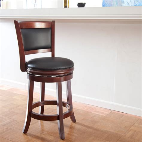 kitchen island counter stools boraam augusta 24 in swivel counter stool bar stools at