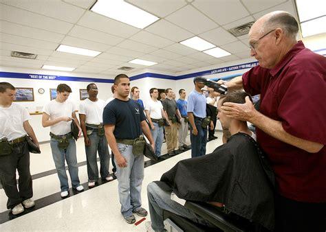 air force basic training womens haircut regulation photos