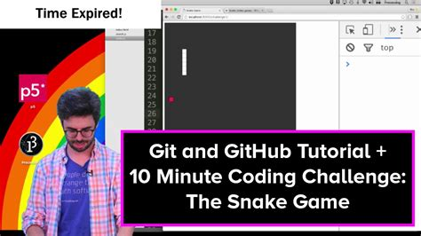 tutorial github youtube live stream 32 git and github tutorial and the snake