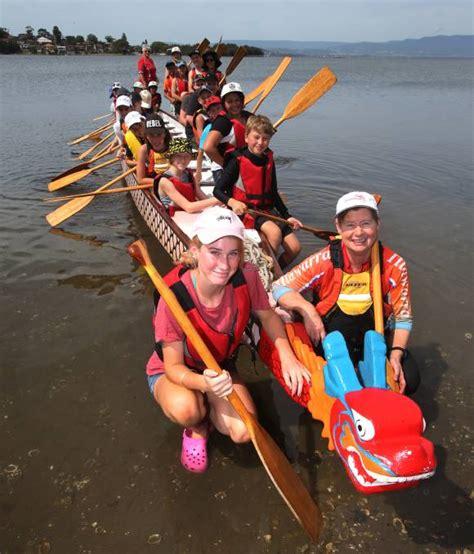 boat parts wollongong junior legatees enjoy dragon boats illawarra mercury