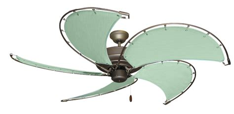 canvas blade ceiling fan 52 inch raindance nautical ceiling fan sunbrella sea