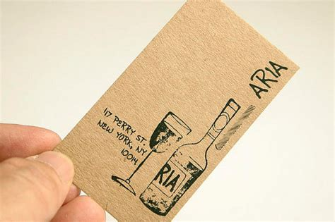 Paper Business - 30 eco friendly recycled paper business card designs
