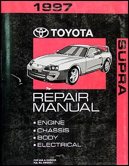 service manuals schematics 1997 toyota supra auto manual 1997 toyota supra repair shop manual original