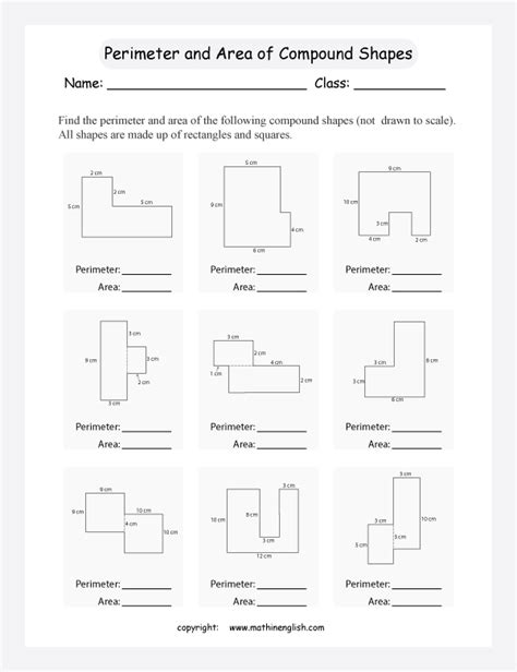 view printable area word find the perimeter and area of compound shapes not drawn