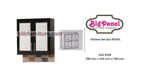 Murah Filling Cabinet Uno Ufl 7263 3laci kitchen set atas 2 pintu ksa 5250 royal bigpanel sale promo