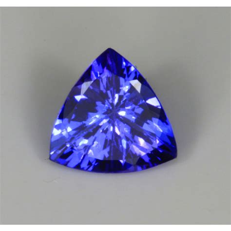 what color is tanzanite tanzanite trilliant cut with aaa color
