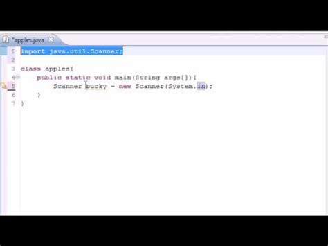 java tutorial user input java programming tutorial 7 building a basic calcul