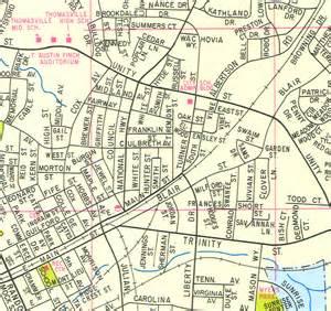 davidson carolina map davidson county wall map up cartography sle