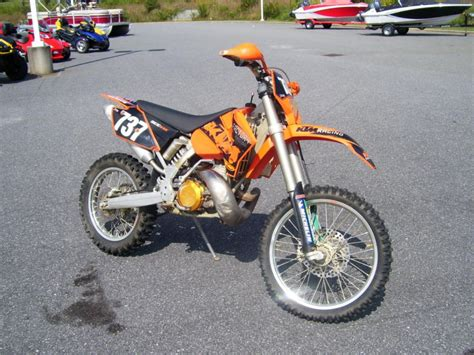 Ktm Bicycle For Sale 2006 Ktm 300 Exc Dirt Bike For Sale On 2040 Motos