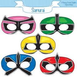 power rangers mask template ranger samurai printable masks samurai mask ranger