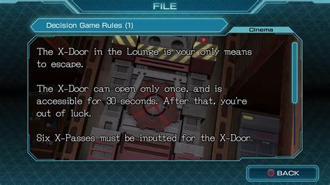 Ps4 Zero Escape Zero Time Dilemma Region 1 Usa zero escape zero time dilemma en ps4 playstation store