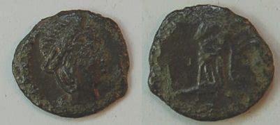 antike möbel trier follis bronze antike r 246 mische kaiserzeit theodora