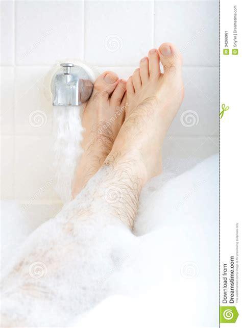 feet in bathtub soaking in the bathtub stock image image 34266961