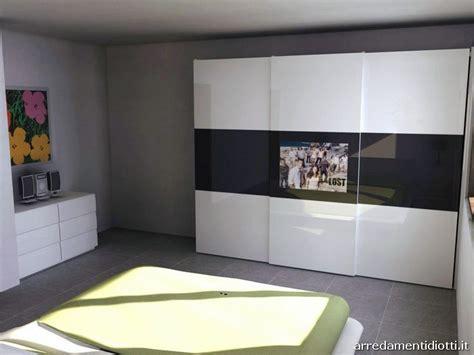 armadi con tv integrata l ego e armadio spazio con tv integrata diotti a