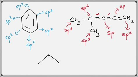 how to find how to find hybridization of carbon atoms