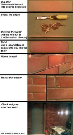 diy faux bricks paint paint colors brick walls and