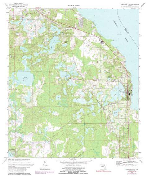 crescent florida map crescent city topographic map fl usgs topo 29081d5