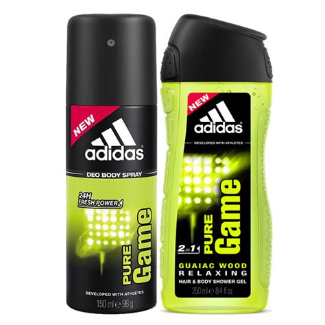 adidas deodorants for men combo pack of 4 assorted get adidas pure game combo of shower gel and deodorant for