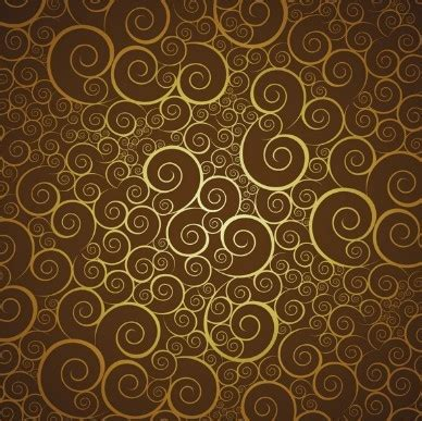 simple pattern brown free elegant vector pattern background 01 titanui