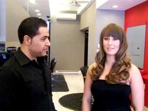 salon rouge hair salon ottawa hollywood waves at salon rouge ottawa hair salon youtube