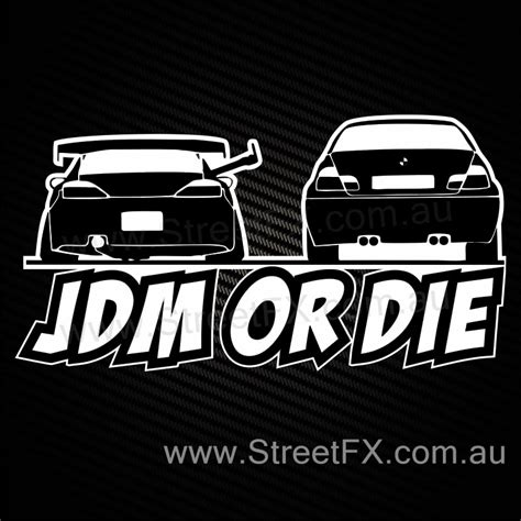 Jdm Sticker jdm or die s15 drift sticker decal for drifter sr20 s14 s13 s12 180sx rims ebay