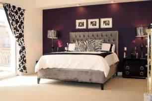 Purple accent wall teen girls room inspiration pinterest