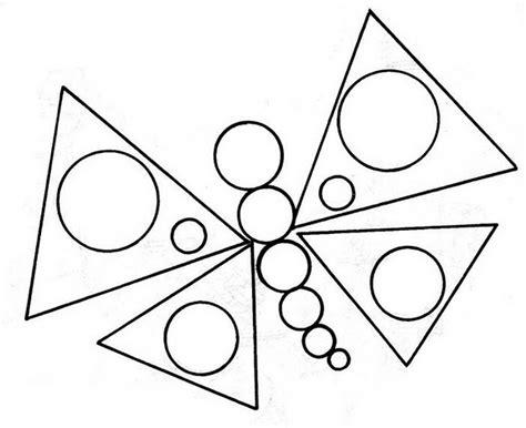 dibujos para colorear con figuras geométricas dibujos con figuras geometricas dibujos