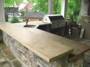 outdoor living with concrete countertops traditional patio new york by trueform concrete