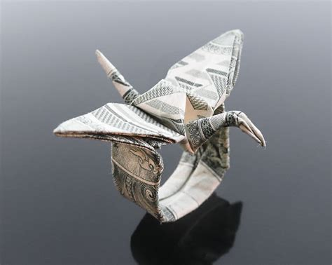 Origami Money Crane - 17 best images about origami cranes on origami