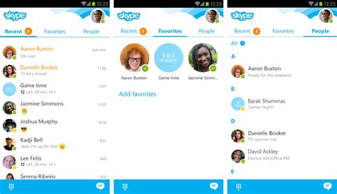 skype apk file for android tablet skype for android 5 6 released with refreshed look new
