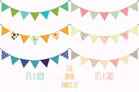 new year bunting vector 18 flag banner vector images free vector banner flags