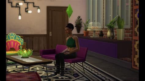 wohnung für eine nacht weiss anthrazit grau mit violett wohnzimmer