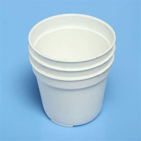 white pot white round flower pot plastic garden flowerpot alex nld