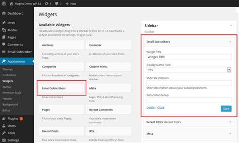 Email Wordpress | email subscribers wordpress plugin subscription box