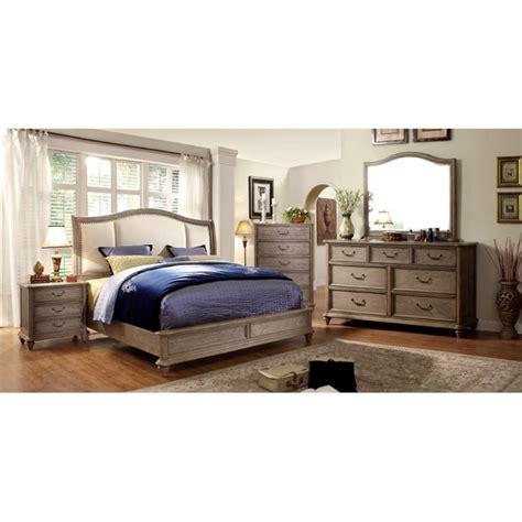 Cherry King Bedroom Set by Furniture Of America 4 King Bedroom Set In