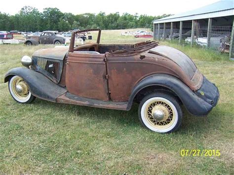 ford cabriolet cars for sale 1934 ford cabriolet for sale classiccars cc 703166