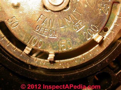 furnace fan limit switch settings furnace fan limit switch control a guide to the fan limit
