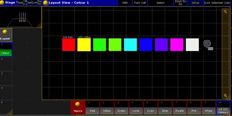 layout view grandma2 how to colour layout views consoletraining com