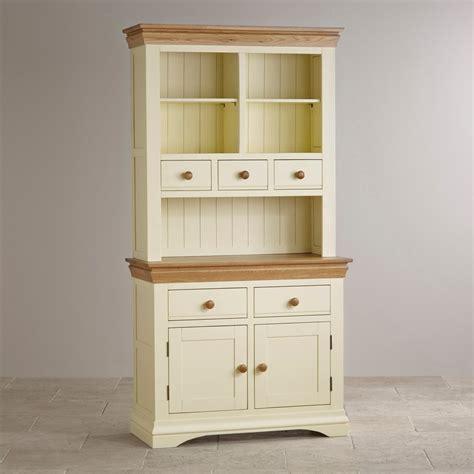 Oak Dressers Furniture by Country Cottage Dresser In Painted Oak Oak Furniture Land