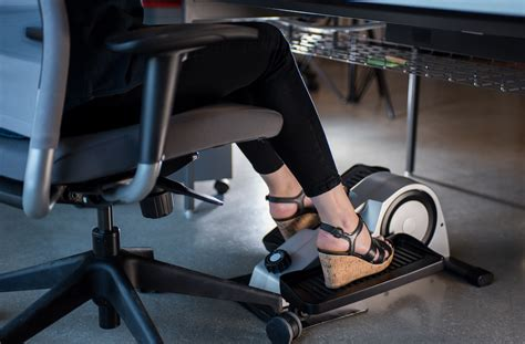 an desk elliptical so you can workout while you work