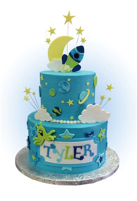 theme cake decorations childrens space themed cake toppers and decorations for