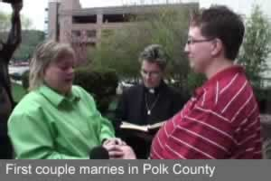Polk County Iowa Marriage License Records A Day For Marriage In Iowa On Top Magazine Lgbt News Entertainment